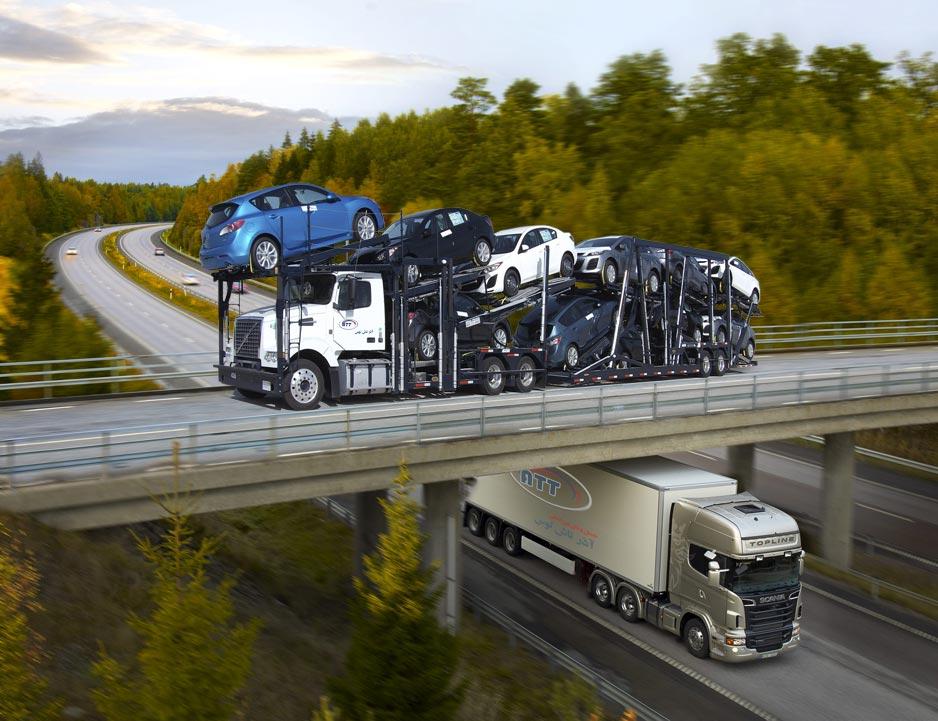 جی پی اس در خودروهای ترانزیت کالا