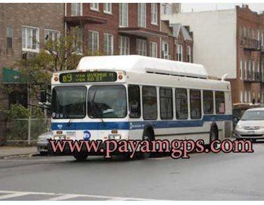 استفاده اتوبوس های عمومی از ردیاب جی پی اس