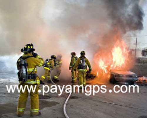 استفاده از ردیاب برای آتش نشان ها
