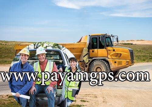 ردیاب جی پی اس در صنعت ساخت و ساز