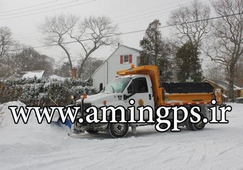 ردیاب خودرو برای ماشین های برف روب