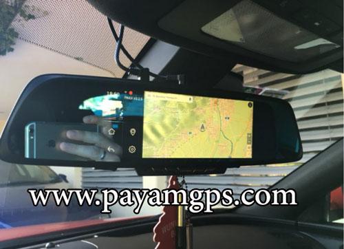 دستگاه DVR ماشین مجهز به نقشه جی پی اس برای ردیابی خودرو