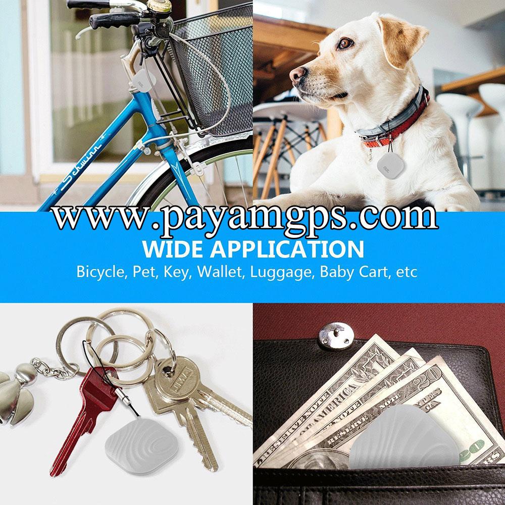 مینی ردیاب جی پی اس Apsung برای ردیابی دسته کلید، دوچرخه، حیوانات و کیف پول