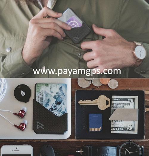کیف پول هوشمند RAVEAN WALLET مجهز به جی پی اس با ردیابی آنلاین