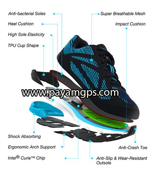 کفش هوشمند 90FUN دارای پردازنده اینتل با قابلیت ردیابی افراد