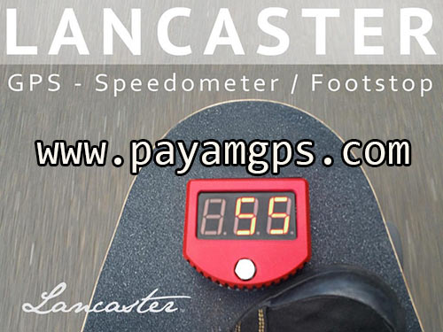 اسیکت برد مجهز به سرعت سنج جی پی اس GPS