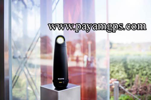 بطری هوشمند Ecomo با قابلیت تصفیه آب و نگهداری ساعت جی پی اس