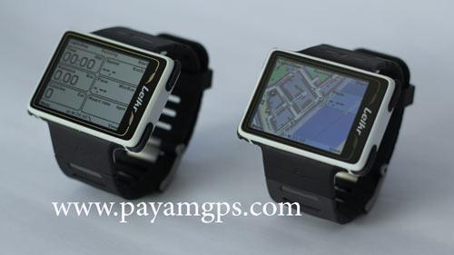 ساعت جی پی اس ورزشی Leikr با صفحه نمایشگر 2 اینچی