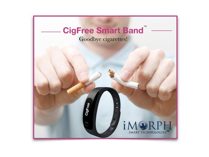 بهترین روش ترک سیگار استفاده از دستبند هوشمند CigFree