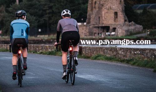 حسگر نور ACE برای نشان دادن ترمز دوچرخه سواران