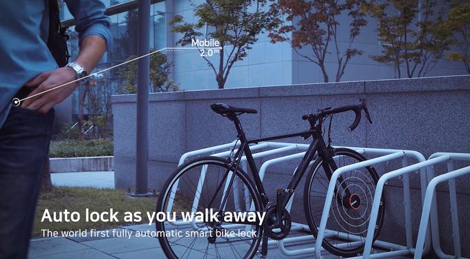 قفل Bisecu بعنوان اولین قفل هوشمند دوچرخه سواری در جهان