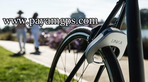 قفل هوشمند و اتوماتیک دوچرخه LINKA مجهز به ردیاب