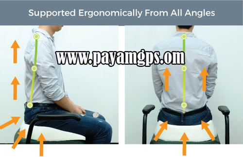 بالش بدون وزن و نشیمنگاه Zero Gravity Posture