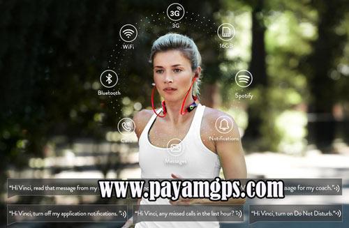 هدفون ورزشی Vinci 2.0 مجهز به ردیاب برای حفظ تناسب اندام شما