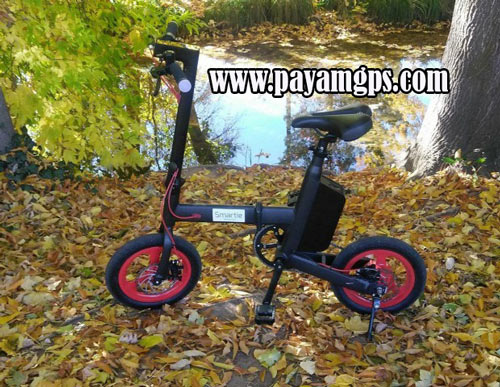 بهترین دوچرخه برقی تاشو مجهز به ردیاب Smartie