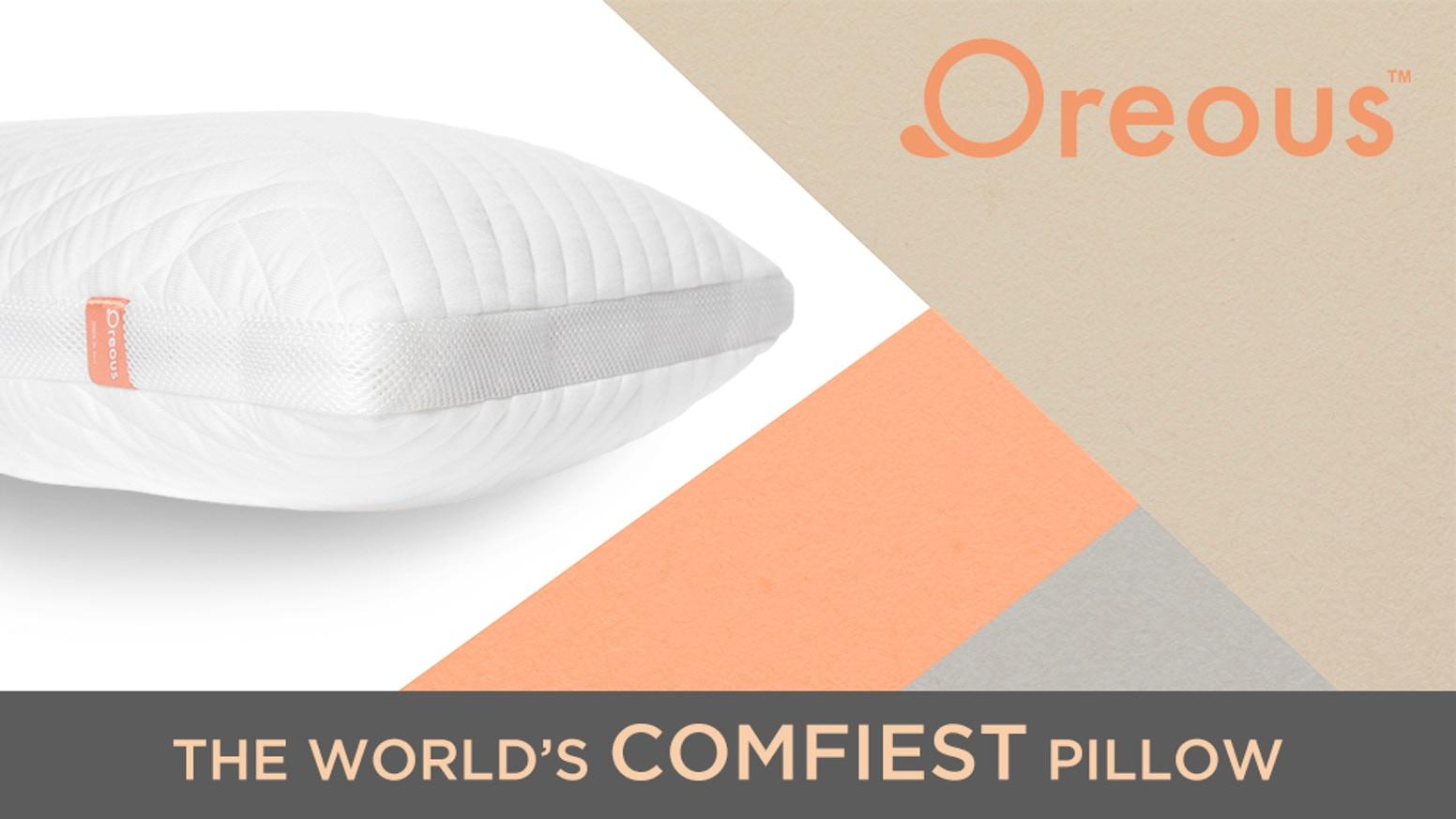 خواب راحت و عالی با بهترین بالش جهان Oreous