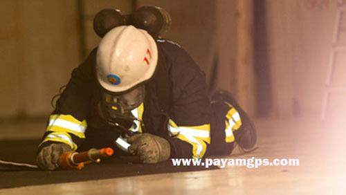 کفش های موقعیت یاب دیجیتال برای ردیابی آتش نشان ها