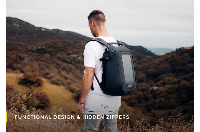 کوله پشتی Numi Smart Pack مجهز به پاور بانک