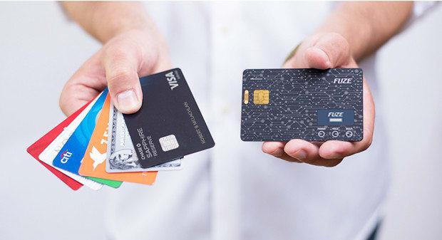 قابلیت ردیابی کارت اعتباری هوشمند Fuze Card