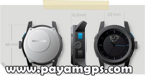 اطلاع از دریافت نوتیفیکیشن با ساعت هوشمند COOKOO