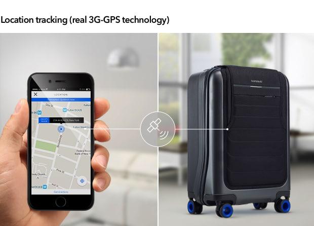 سفری خاطره انگیز با چمدان هوشمند Bluesmart مجهز به ردیاب