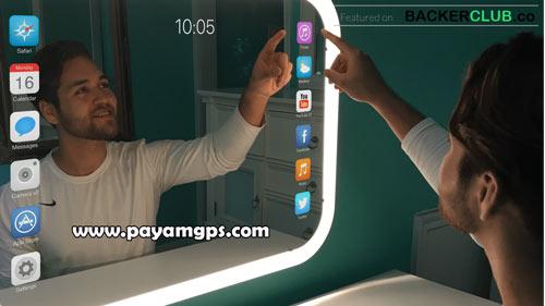 قابلیت اجرای نرم افزارهای گوشی روی آینه هوشمند Eve