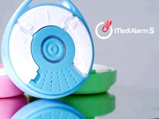 جعبه قرص هوشمند MediAlarm S برای اطلاع رسانی زمان خوردن قرص