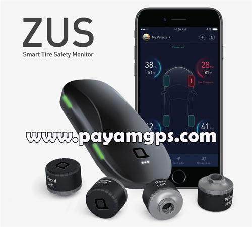 سنسور ZUS بهترین وسیله برای اطلاع از میزان باد لاستیک ماشین