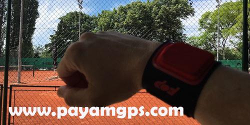 اندازه گیری ضربات توپ تنیس با ردیاب PIQ