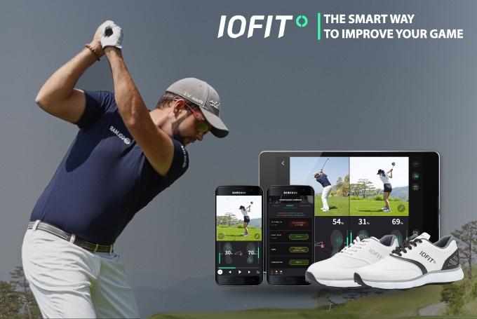 کفش هوشمند IOFIT مجهز به ردیاب جی پی اس برای گلفبازان