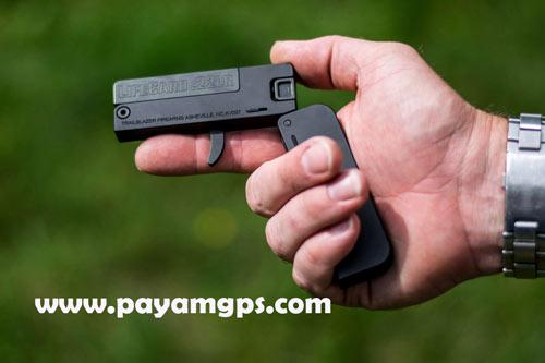 اسلحه Lifecard کوچکترین اسلحه جهان به شکل یک کیف پول