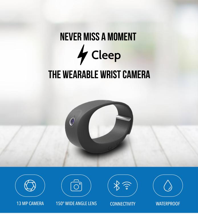 مچ بند هوشمند Cleep مجهز به دوربین