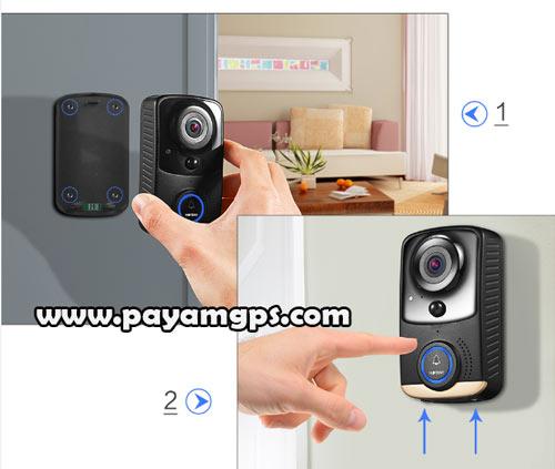 بالا بردن امنیت خانه با نصب زنگ در مجهز به دوربین Hoteny