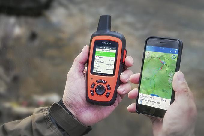 دستگاه جی پی اس برای افراد کوهنورد