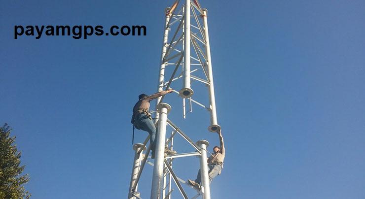 دستگاه های ردیاب در نصب دکل مخابراتی تلفن همراه