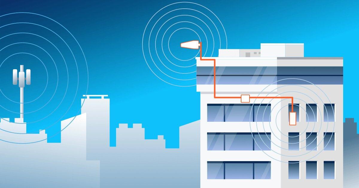 تقویت آنتن موبایل در هتل و پاساژ